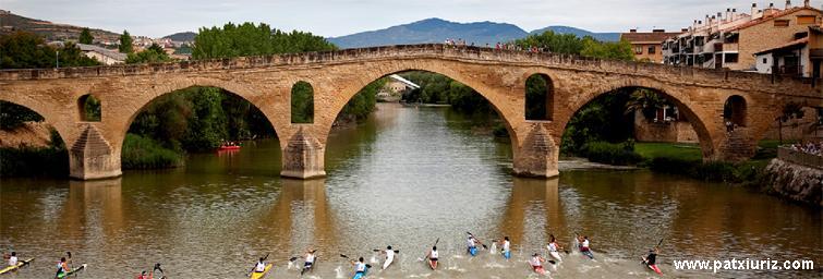 Trofeo piragüismo Ayuntamiento Puente la Reina