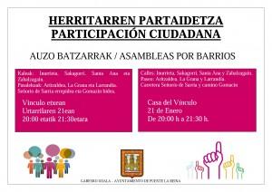 cartel barrios 21 enero