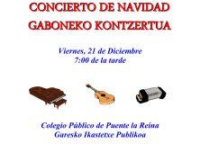 CONCIERTO DE NAVIDAD. ESCUELA MUNICIPAL DE MÚSICA