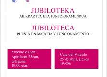 JUBILOTEKA.  INFORMAZIO  BATZARRA