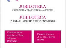 JUBILOTECA. ASAMBLEA INFORMATIVA
