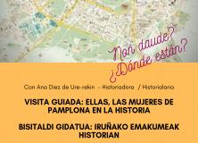 BISITALDI  GIDATUA:  IRUÑAKO  EMAKUMEAK  HISTORIAN