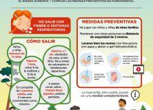 RECOMENDACIONES PARA SALIR CON NIÑOS/AS A LA CALLE